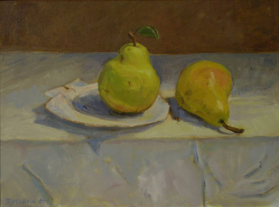 Two Pears and a Shell